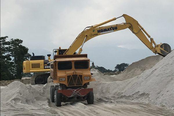 Komatsu PC350 Hydraulic Excavator