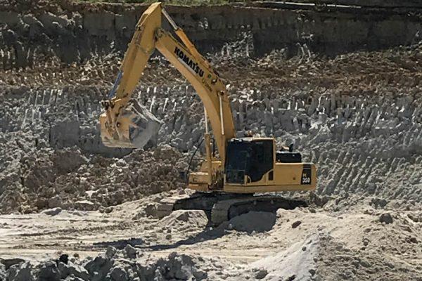 Kotmatsu PC350 Hydraulic Excavator