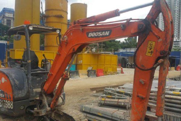 Mini Excavator Doosan DX35Z