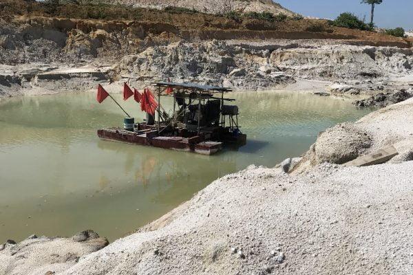 Sand Tin Mining