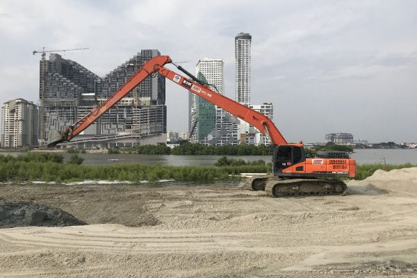18M Long Reach Excavator Doosan DX340