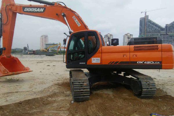 Doosan DX420 Hydraulic Excavator
