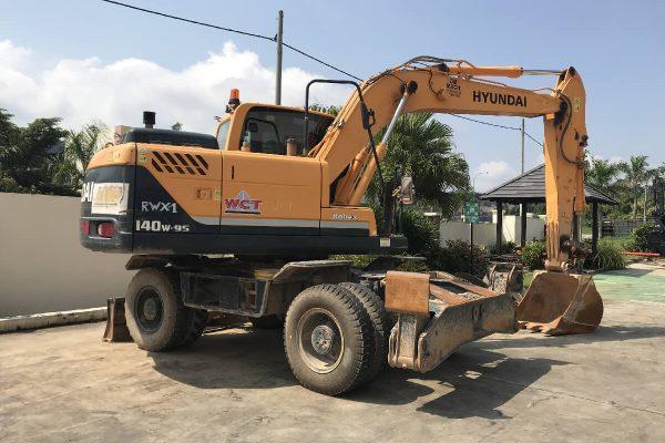 Hyundai R140W-9S Wheel Excavator